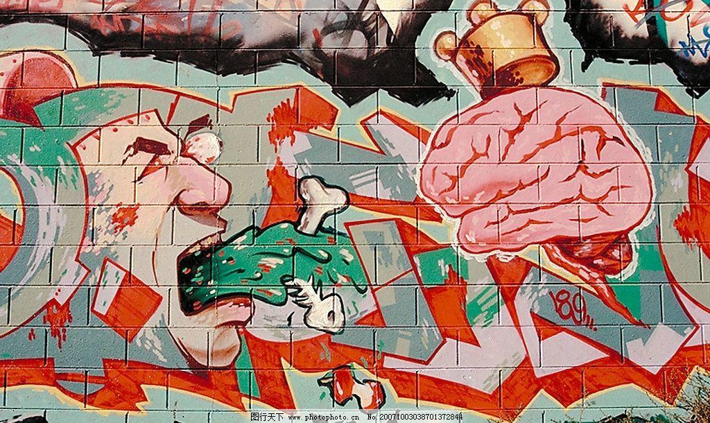 街头文化涂鸦系列12 涂鸦底图背景街头文化 美术绘画 摄影素材图片