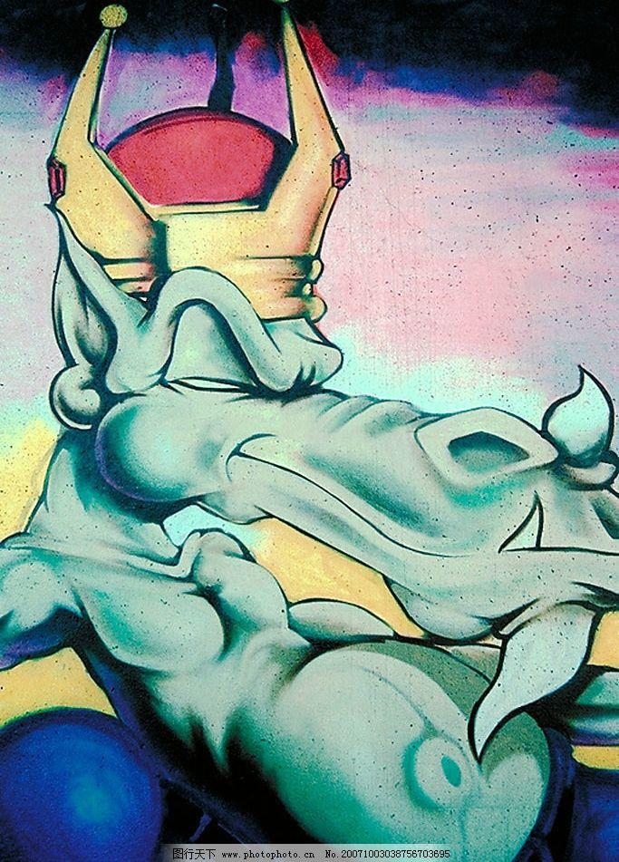 街头文化涂鸦系列3 涂鸦底图背景街头文化 美术绘画 摄影素材图片