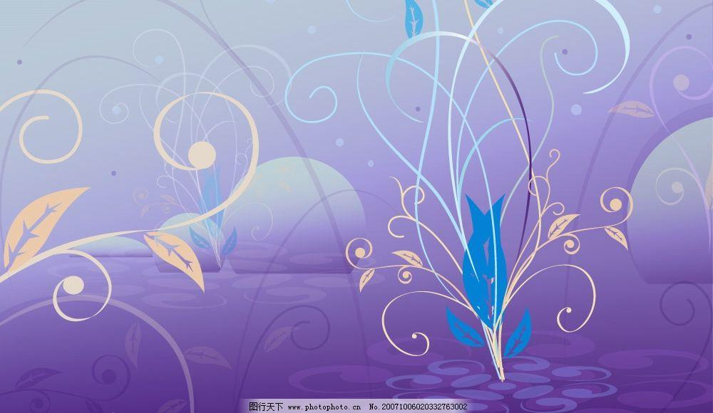 时尚花边 韩式花纹矢量图9图片