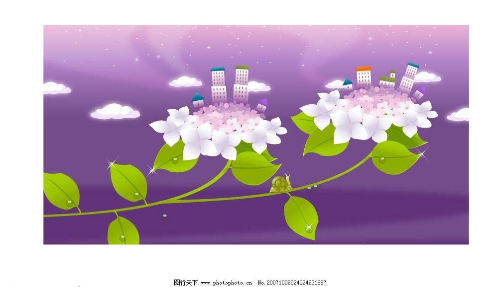 韩国风景矢量图系列图片