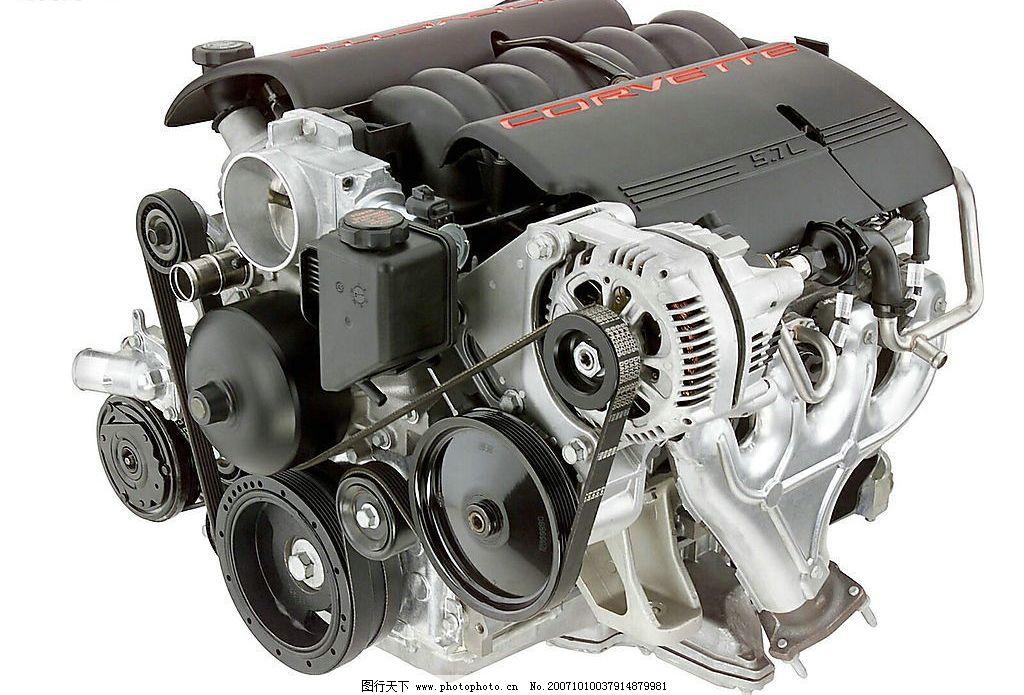澎湃动力 汽车 引擎 发动机 雪佛兰 corvette 现代科技 工业生产 摄影