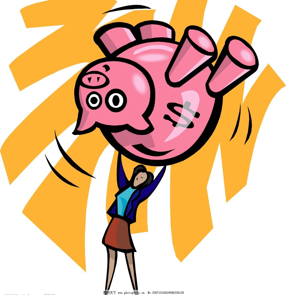 家猪-邹家猪钱罐图片