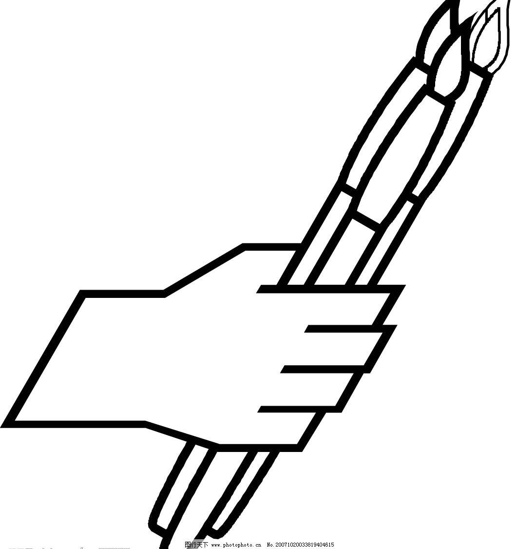 最可爱的手势简笔画