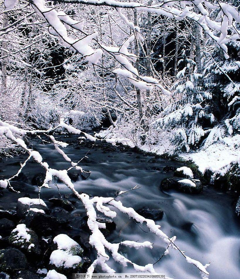大雪迷幻图片_自然风景_旅游摄影_图行天下图库