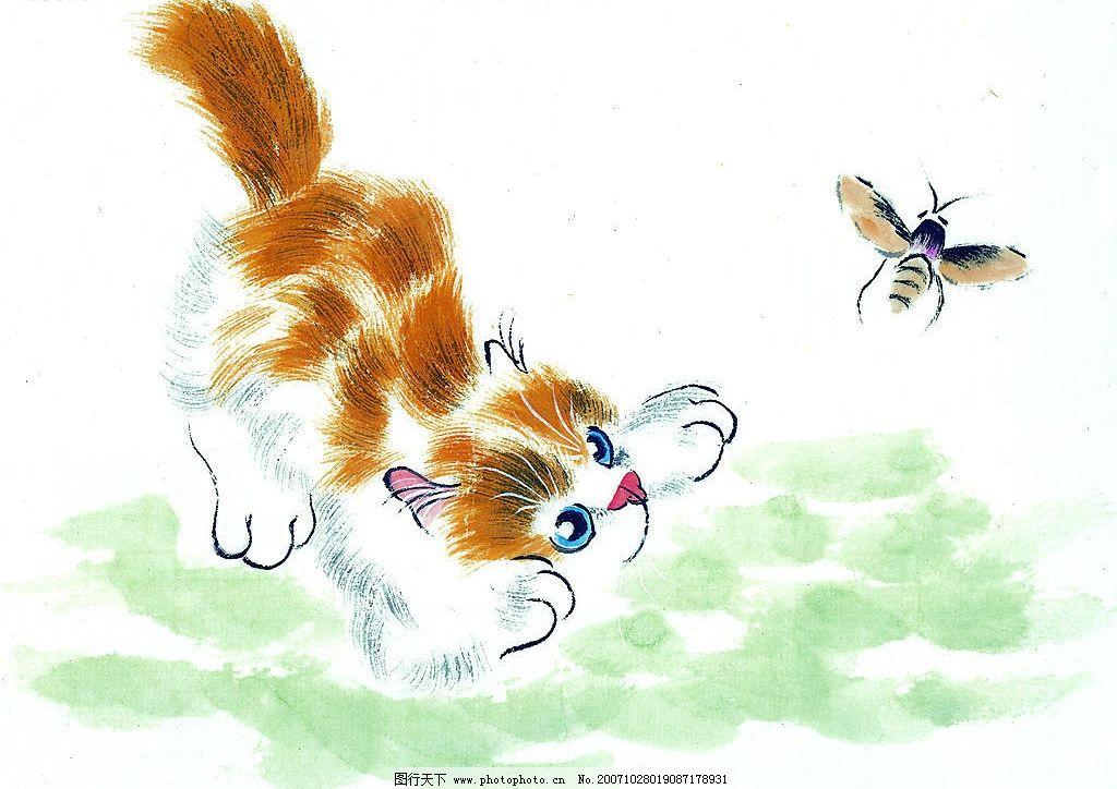 中国画--猫(51张) 美术 艺术 高清晰 文化艺术 美术绘画
