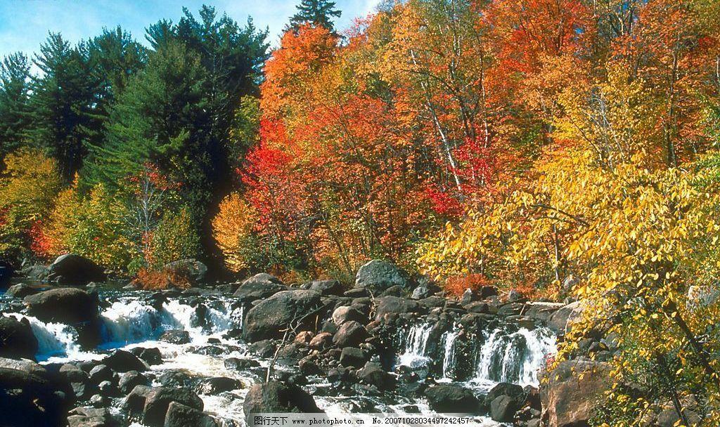 秋天景色 自然景观 山水风景 摄影图库 72 jpg
