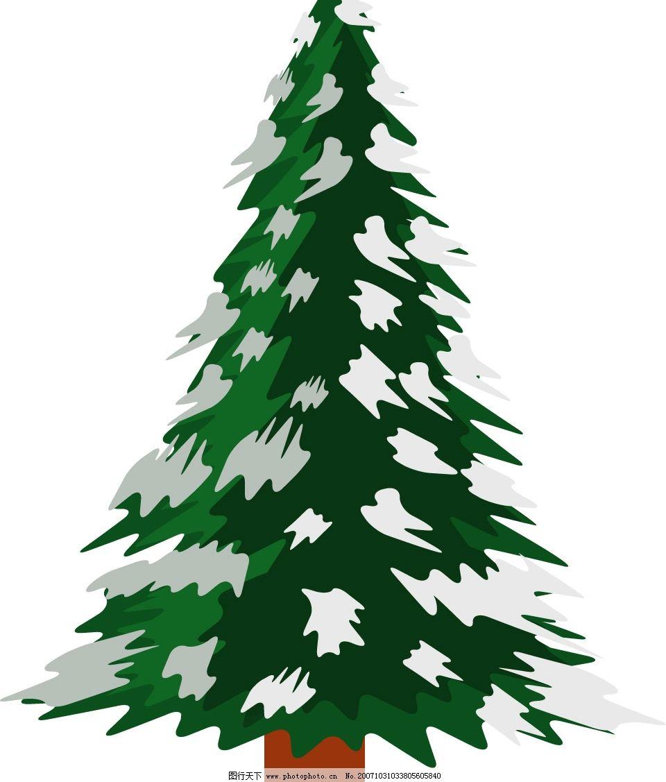 圣诞树 圣诞树 圣诞 节日 其他矢量 矢量素材 矢量图库   ai