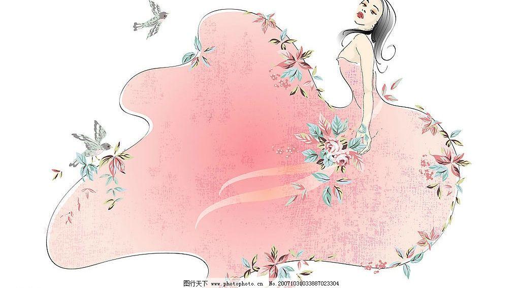 高清晰女性时尚壁纸图片