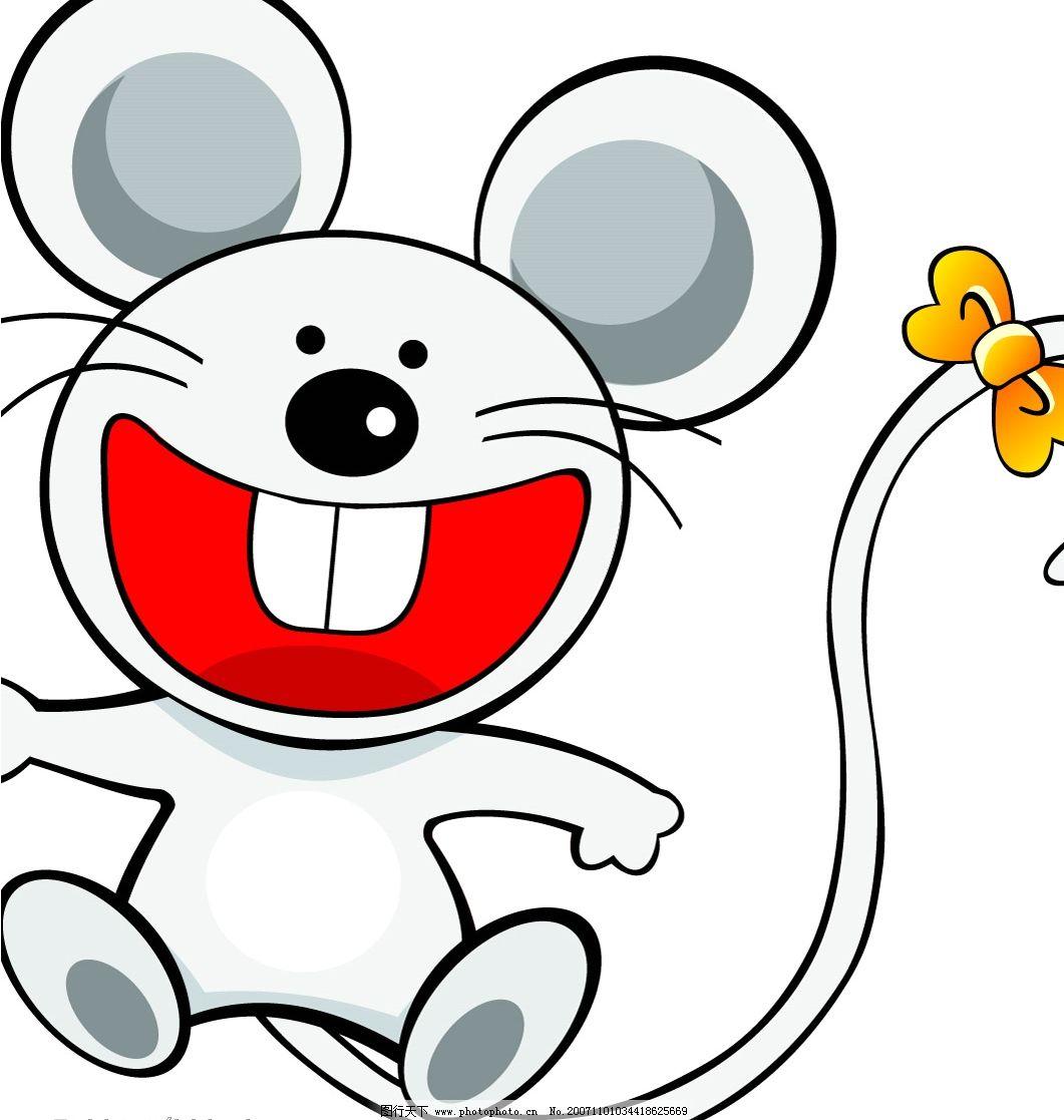 白色小老鼠 新年 鼠 生物世界