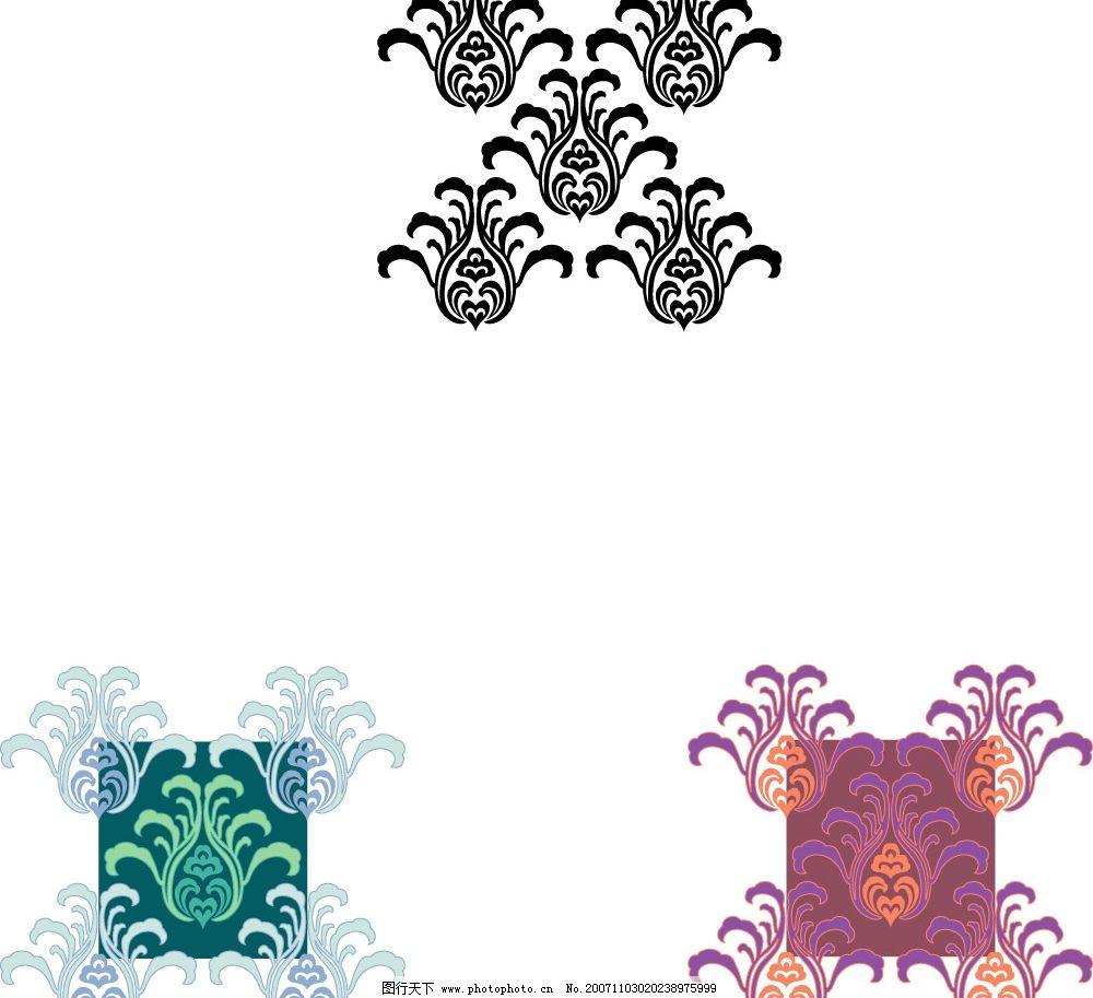 底纹背景 100组中国传统底纹
