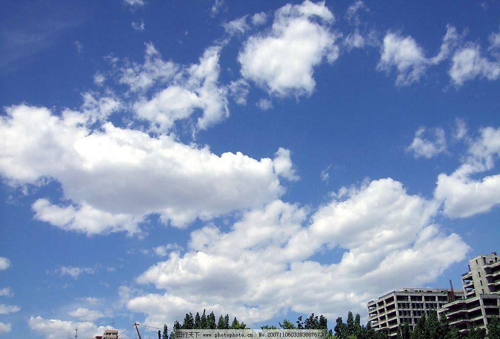 北京的蓝天图片