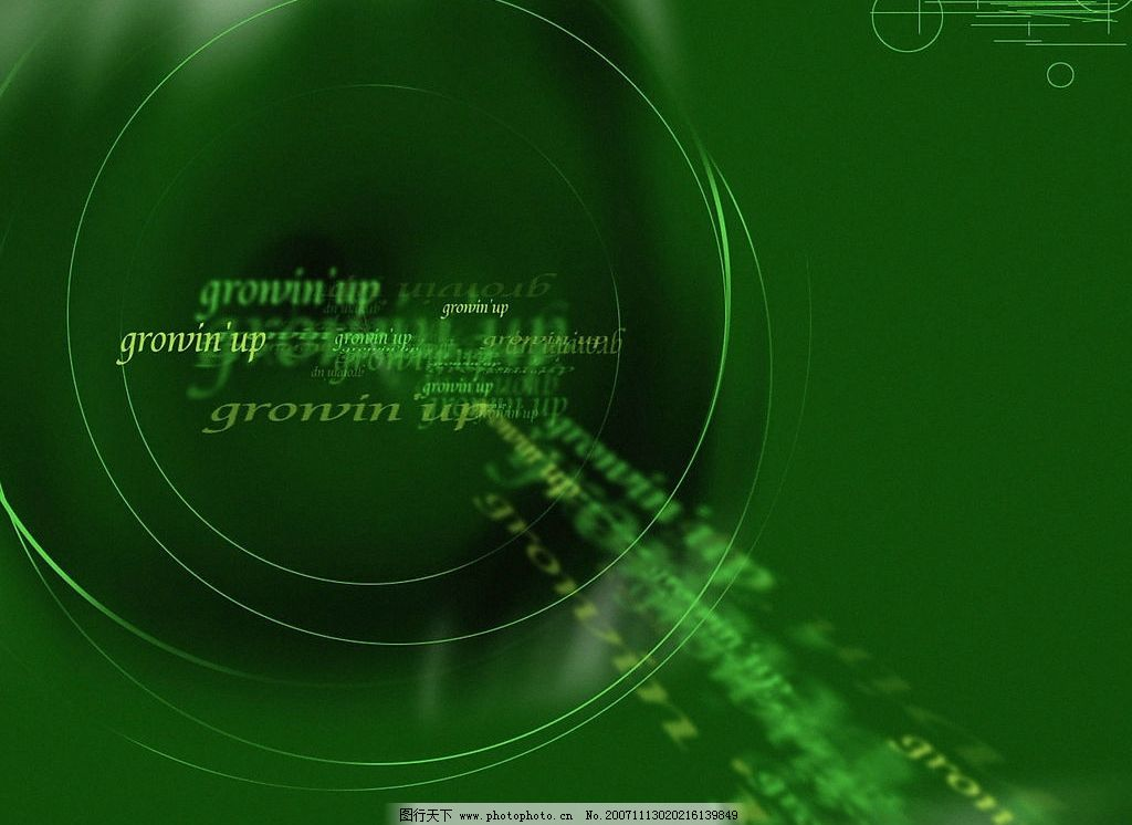 数字科幻-4 底纹边框 背景底纹 设计图库 300 jpg