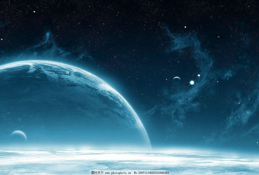 梦幻背景 月亮 底纹边框 花边花纹