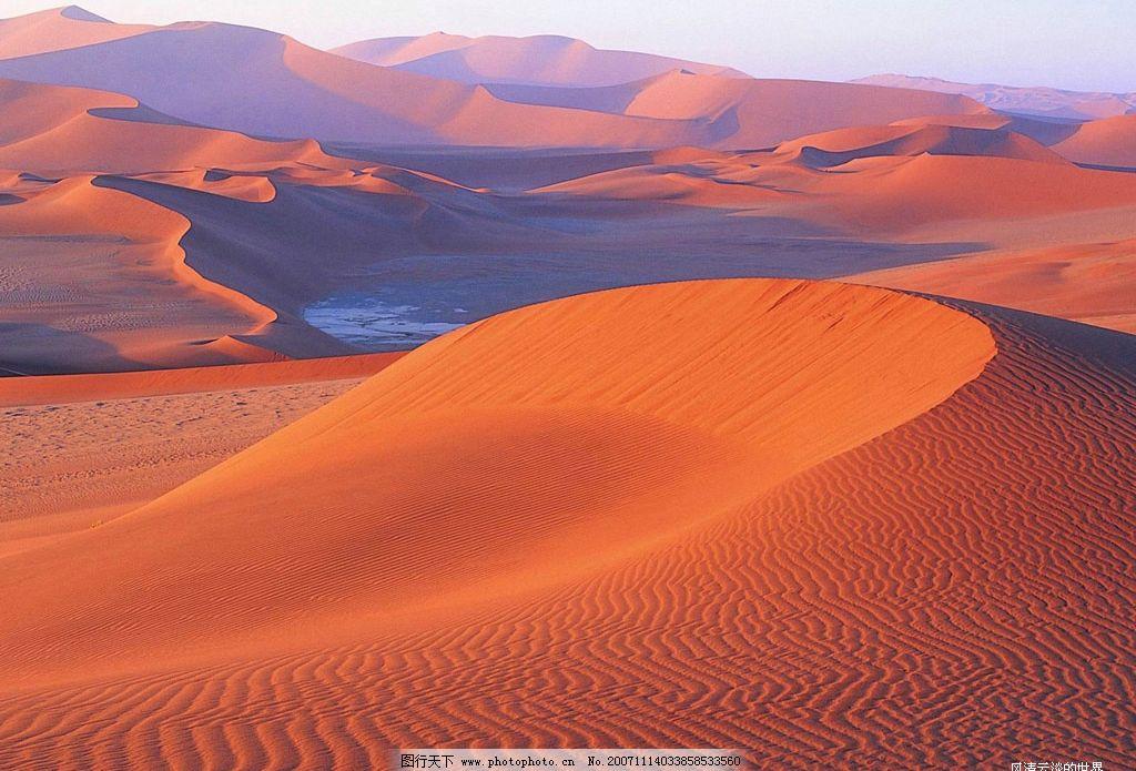 风景 沙漠 图片素材