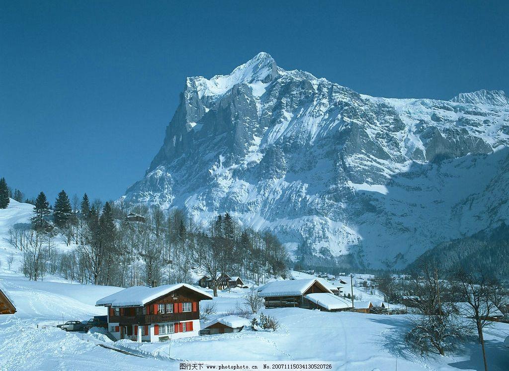 自然风光 雪山 旅游摄影 自然风景 摄影图库