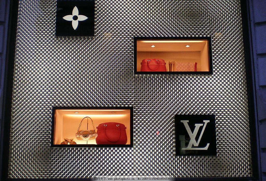 lv橱窗设计图片