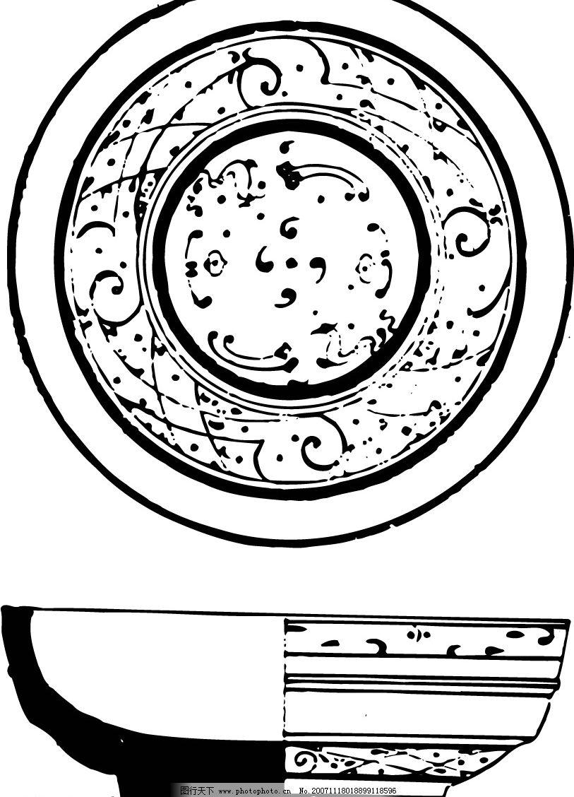 中式古代花纹 文化艺术