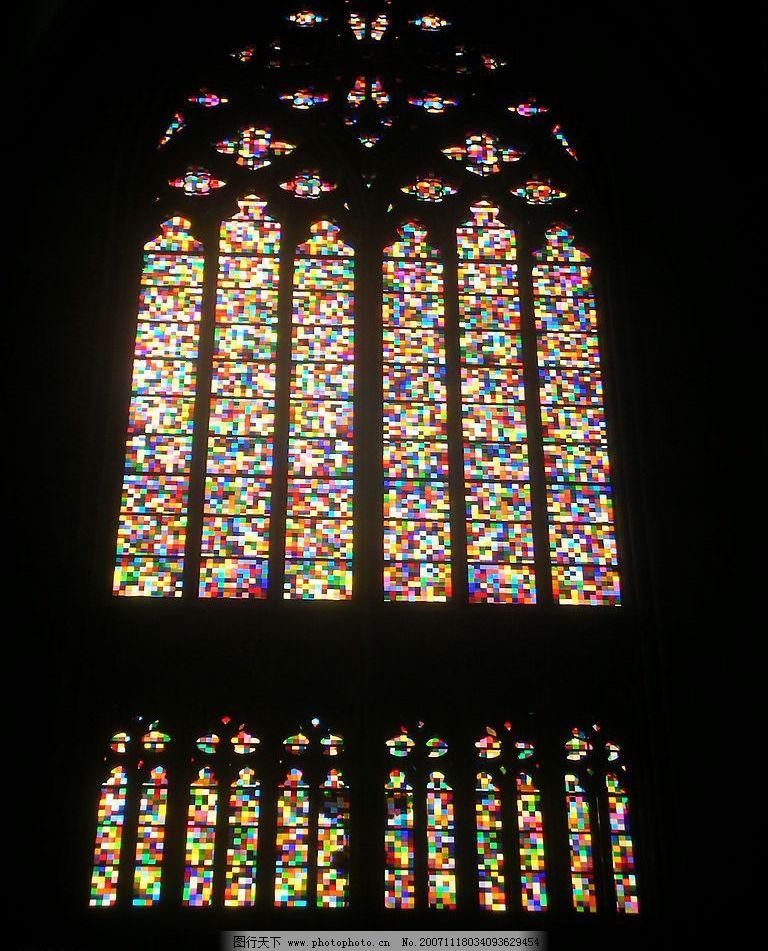 玻璃彩窗图片