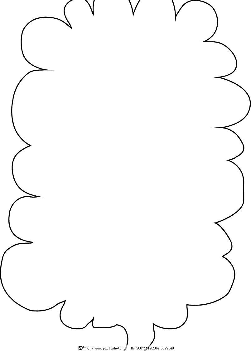 ppt 背景 背景图片 边框 简笔画 模板 设计 手绘 线稿 相框 805_1128