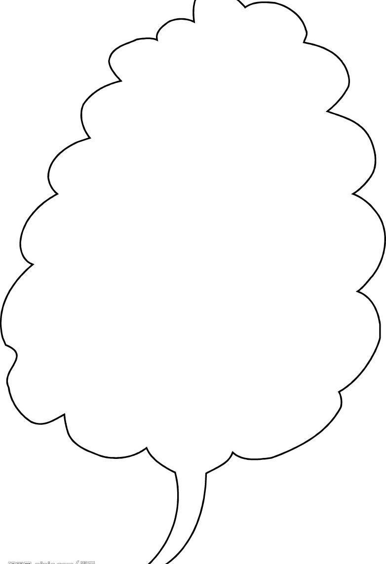 竖边框简单又漂亮手绘