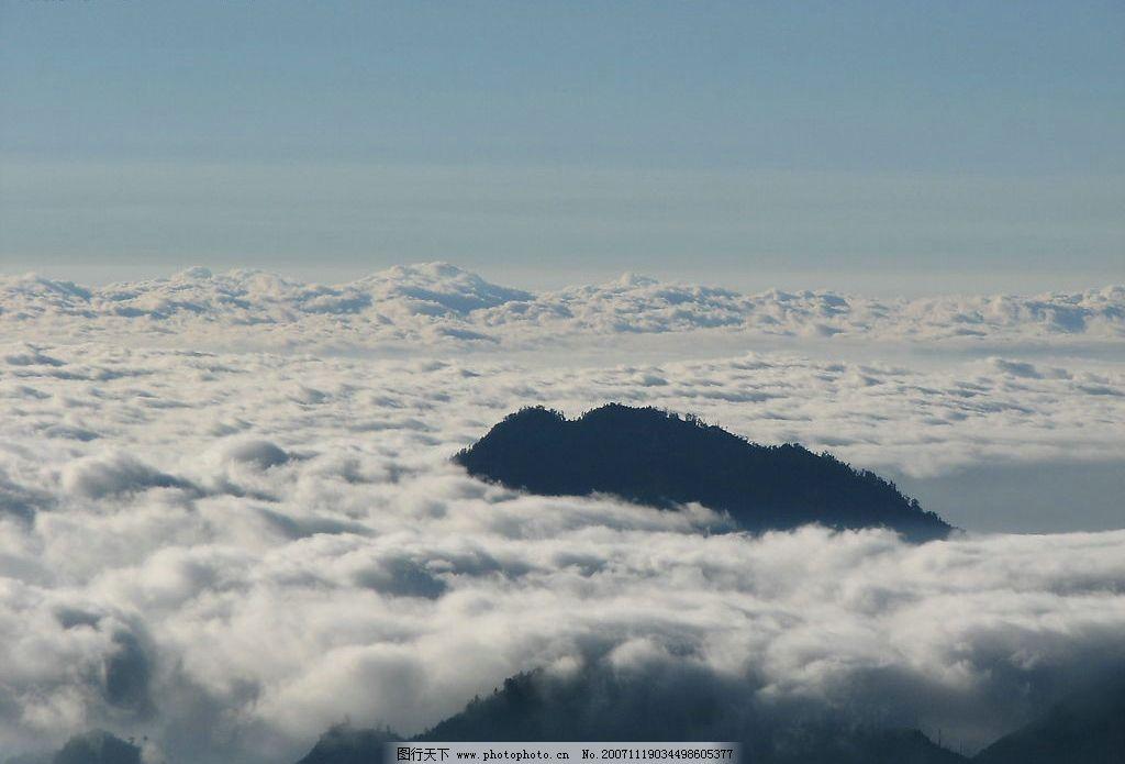 云海 风景云海自然山水台湾 摄影图库