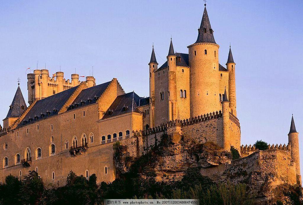 城堡 风景 摄影图库