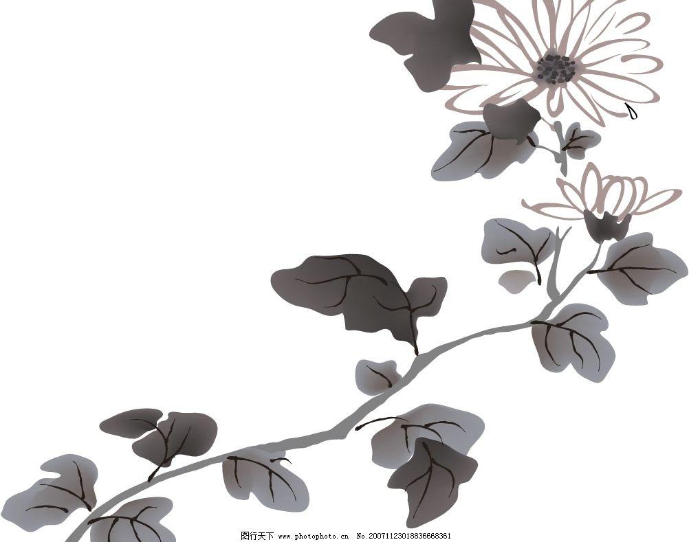 梅兰菊竹图片