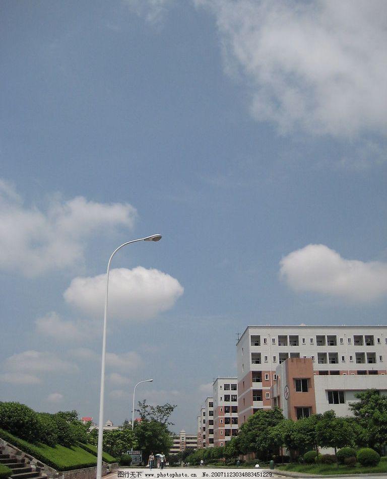 西华师范大学一景图片_自然风景_自然景观_图行天下