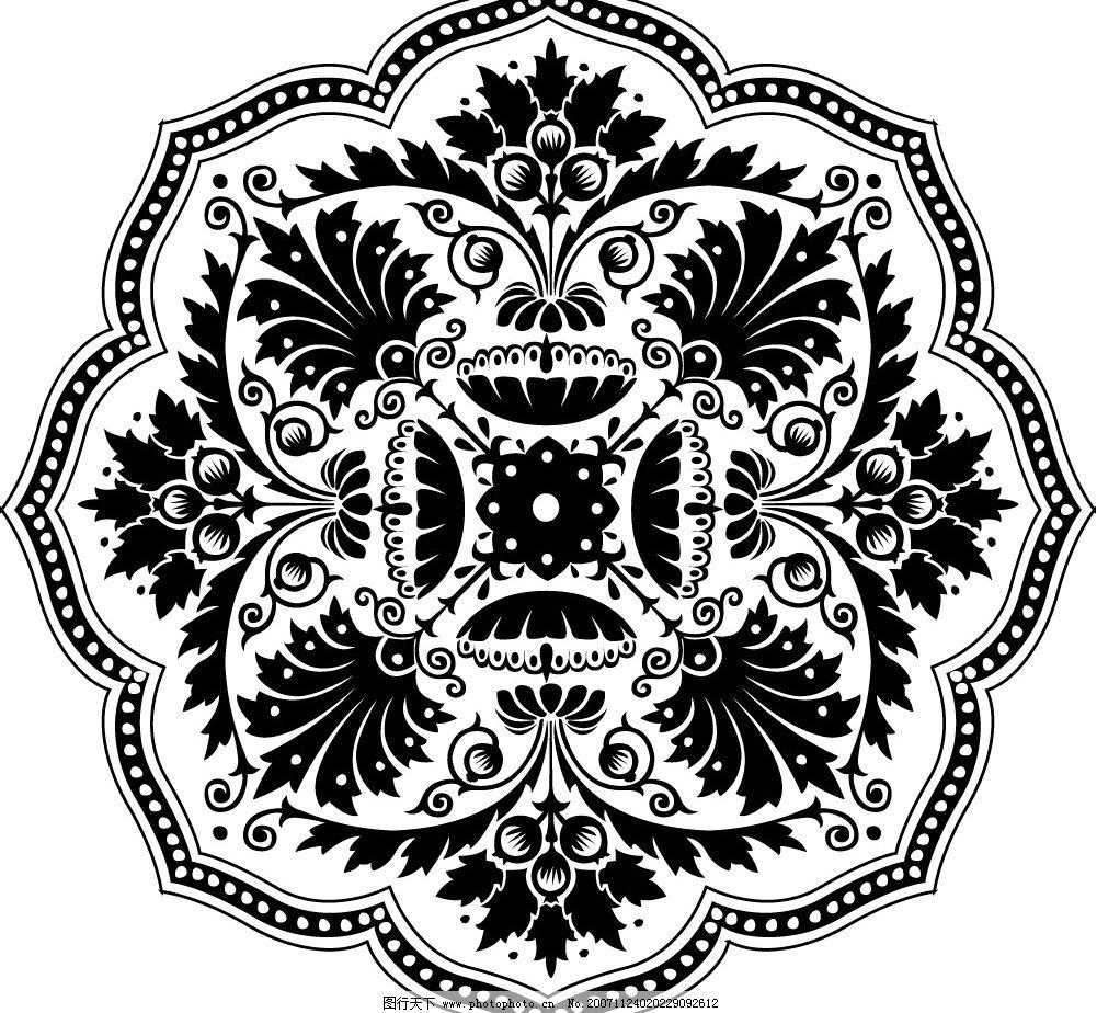设计一幅花卉纹样