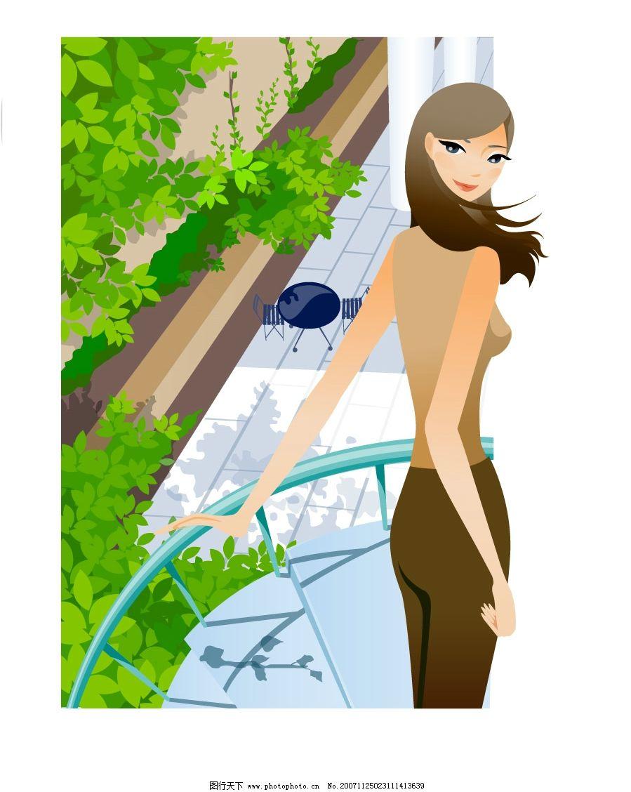 职场白领女性 都市丽人矢量图 生活 旅游矢量 矢量人物 日常生活 生活
