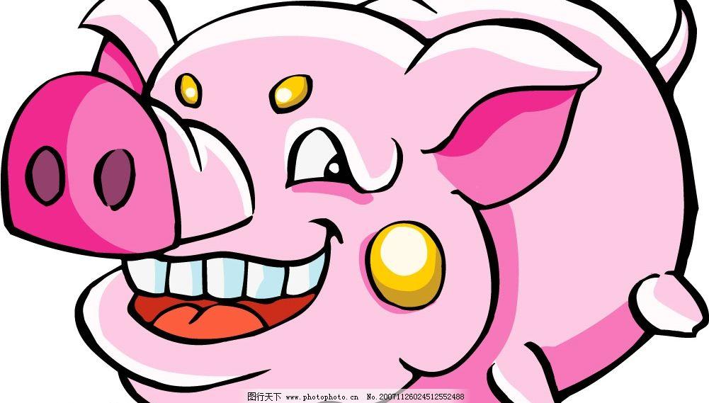 可爱卡通猪图片