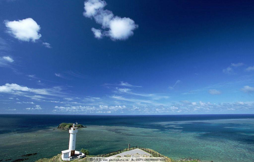冲绳 自然景观 风景名胜 摄影图库 350 jpg