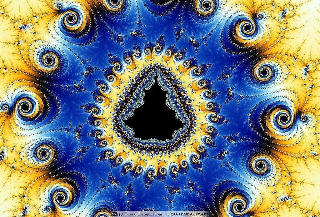 分形 文化艺术 其他 绝美的分形 设计图库 72 jpg