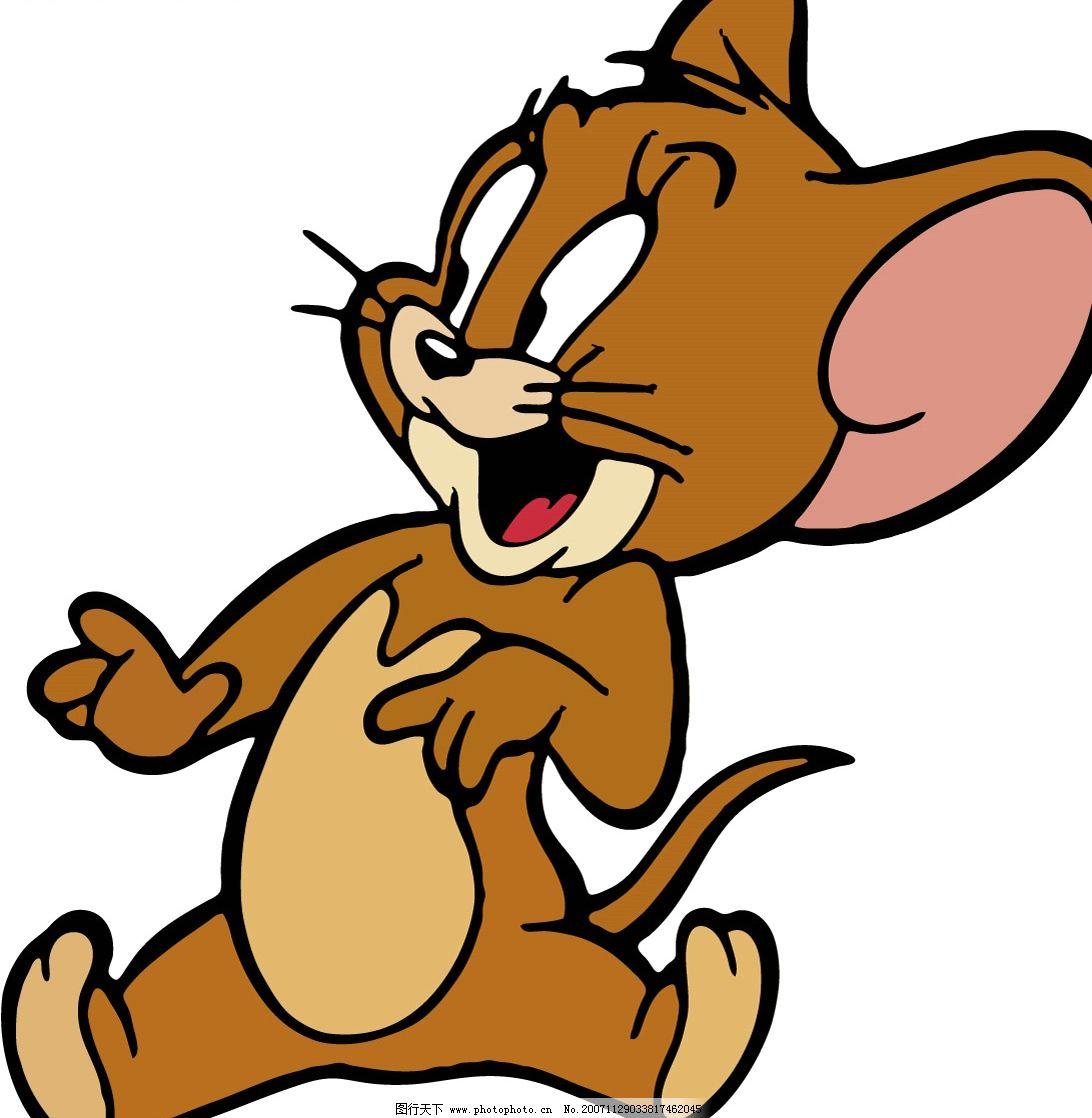 猫和老鼠中的老鼠 其他矢量 矢量素材 可爱老鼠 矢量图库