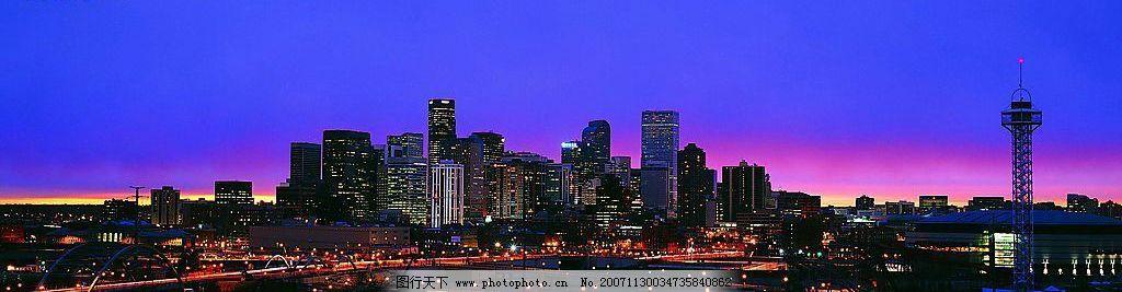 精美绝伦的宽幅城市风景图片