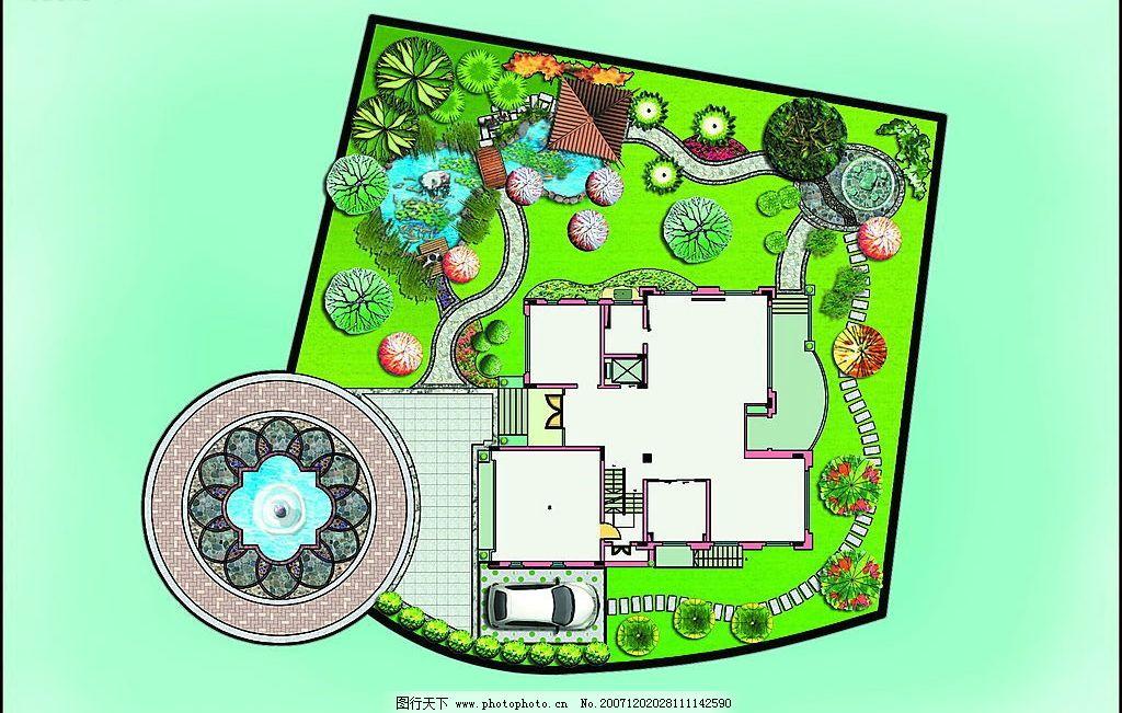 图片花园v图片平面图私家室内设计师第一步图片