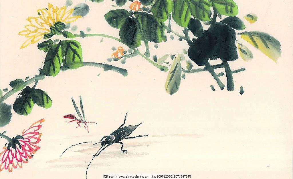 花鸟 中国刺绣 文化艺术 绘画书法 古代刺绣 设计图库 72 jpg