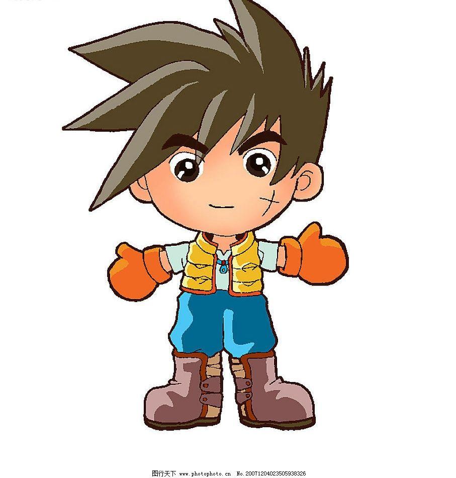 卡通小人 帅男孩 人物图库 儿童幼儿 卡通人物--孩子 设计图库 昵图网