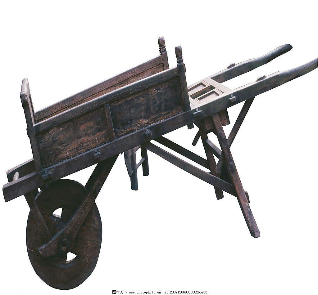 手推车 木制物 其他 图片素材 设计图库 350 jpg