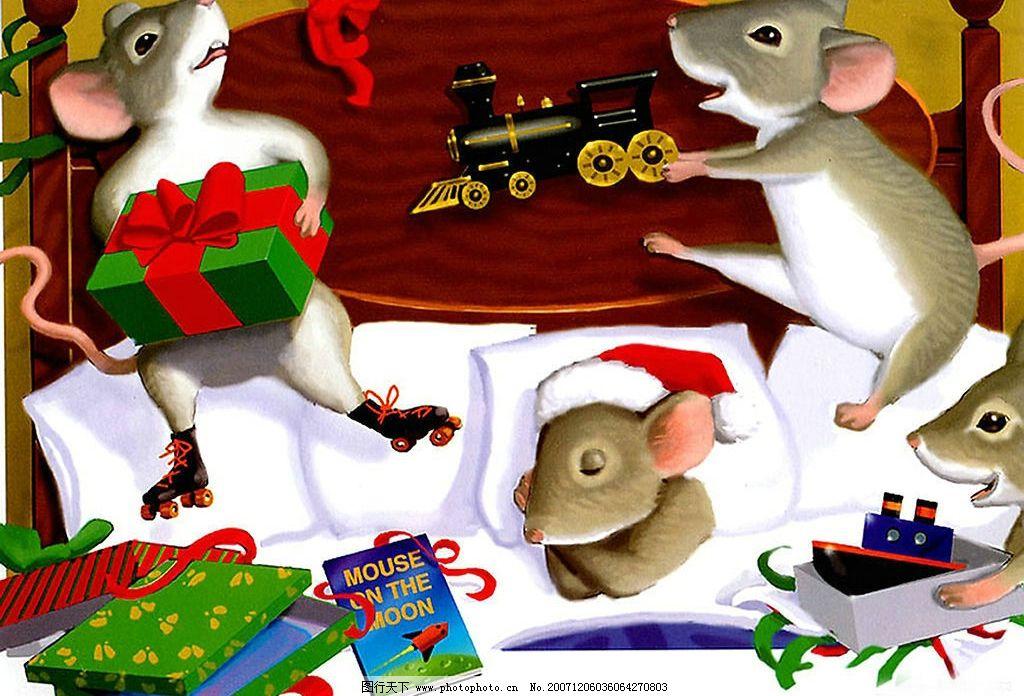 老鼠 米老鼠 跳跳鼠 鼠年 拜年 贺年 图片素材 可爱的老鼠