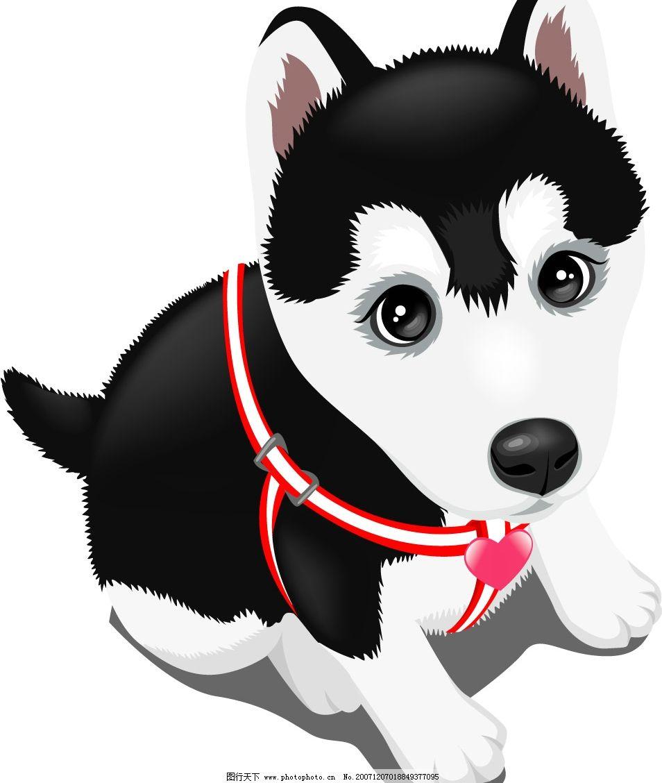 卡通狗-十二生肖卡通狗狗