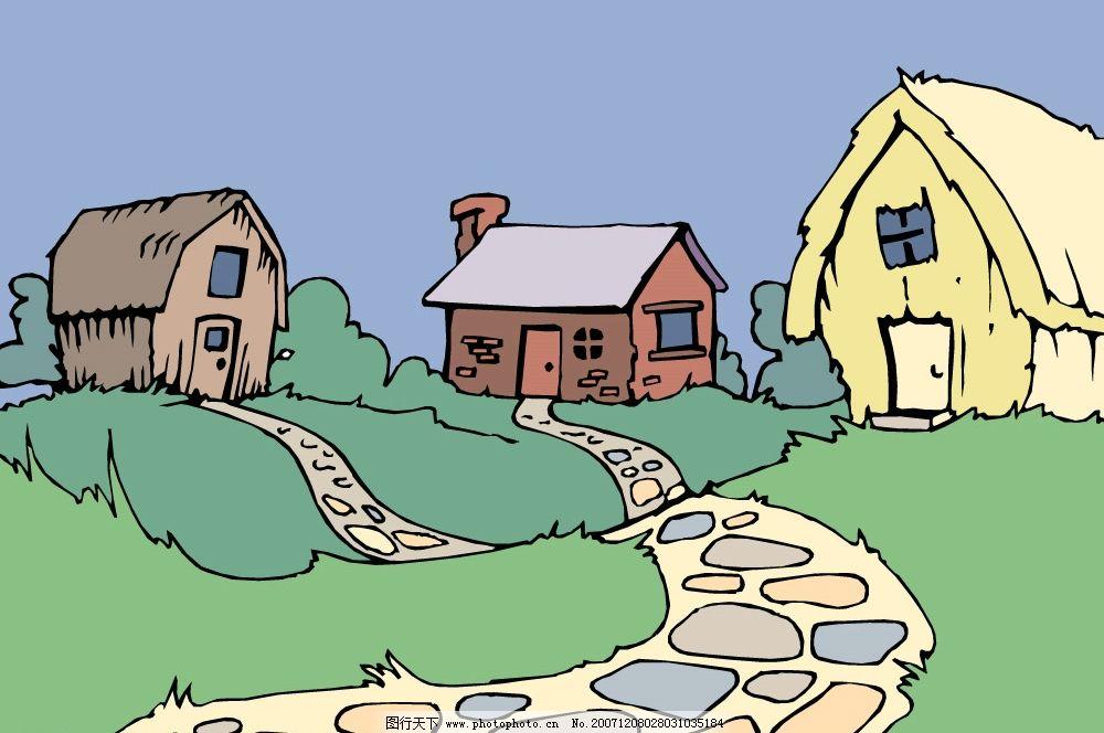 矢量 房屋 建筑图片