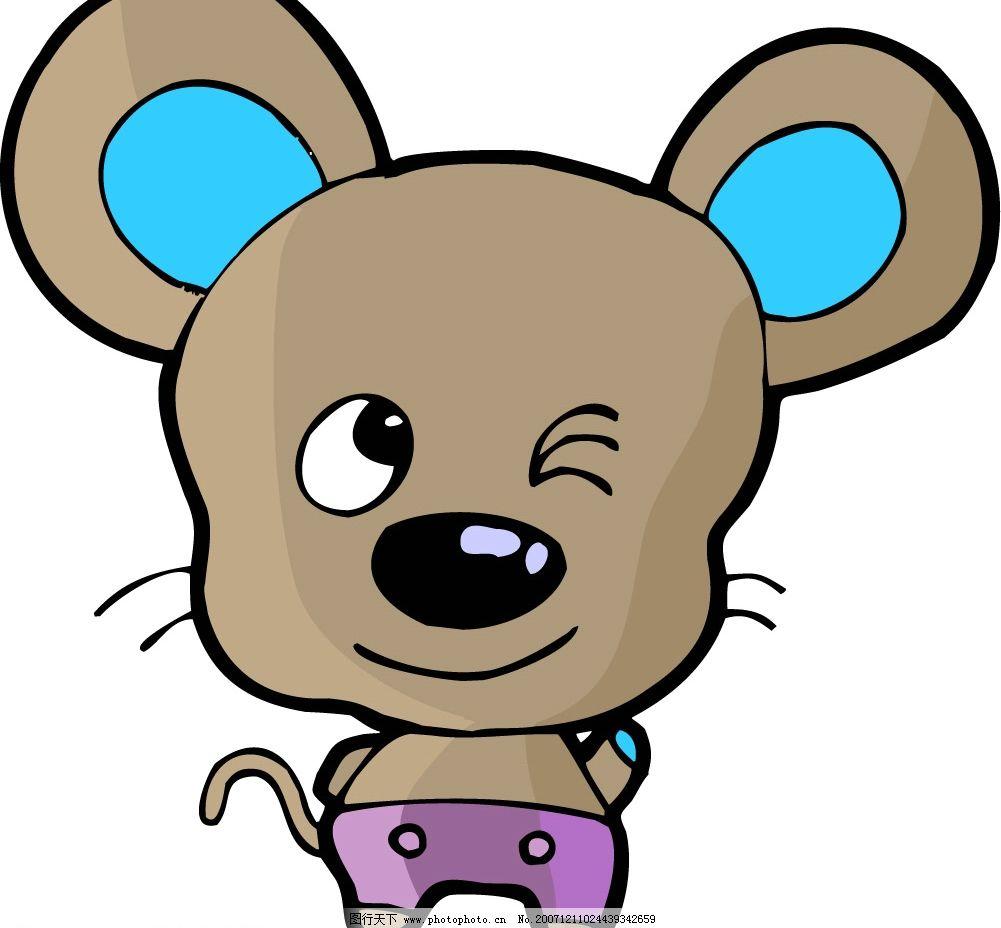 鼠 老鼠 生物世界 野生动物 十二生肖 矢量图库   cdr