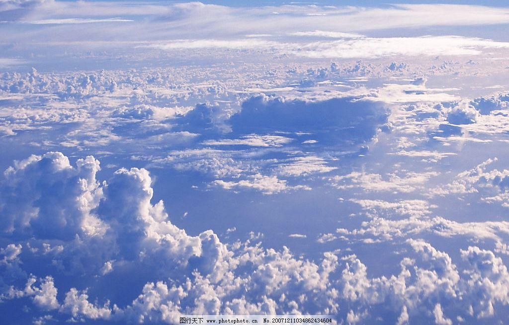 蓝天白云 天空 云彩 自然景观 自然风景 摄影图库 350 jpg