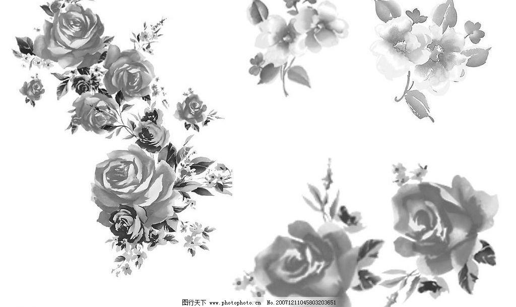 ps水墨花卉笔刷
