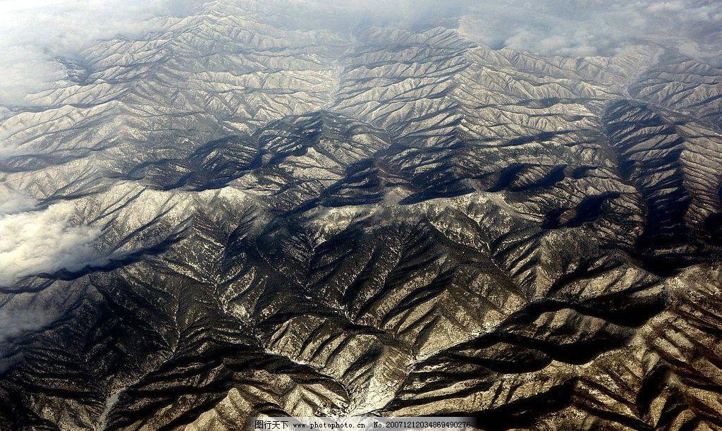 黄土高原 荒凉 自然景观 自然风景 地理 摄影图库 72 jpg