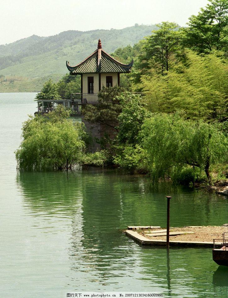 天目湖 旅游摄影 自然风景 摄影图库