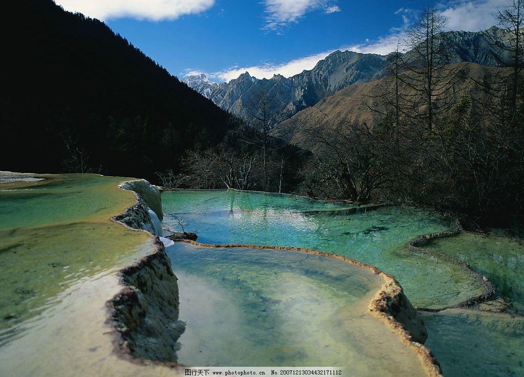 壮丽山河85 水江湖桥 自然景观 山水风景 摄影图库