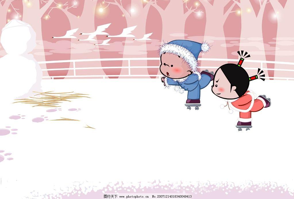 小破孩太可爱了 很可爱 动漫动画 动漫人物 我的矢量图 设计图库