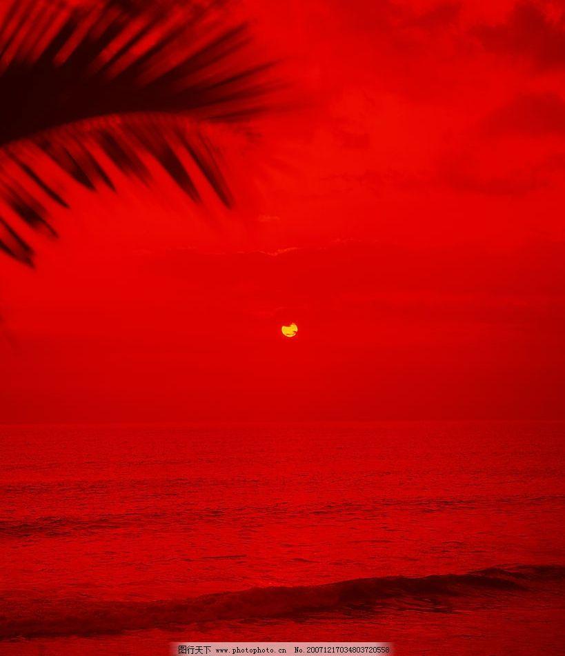 海霞漫天 自然风景 自然景观 摄影图库 350 jpg